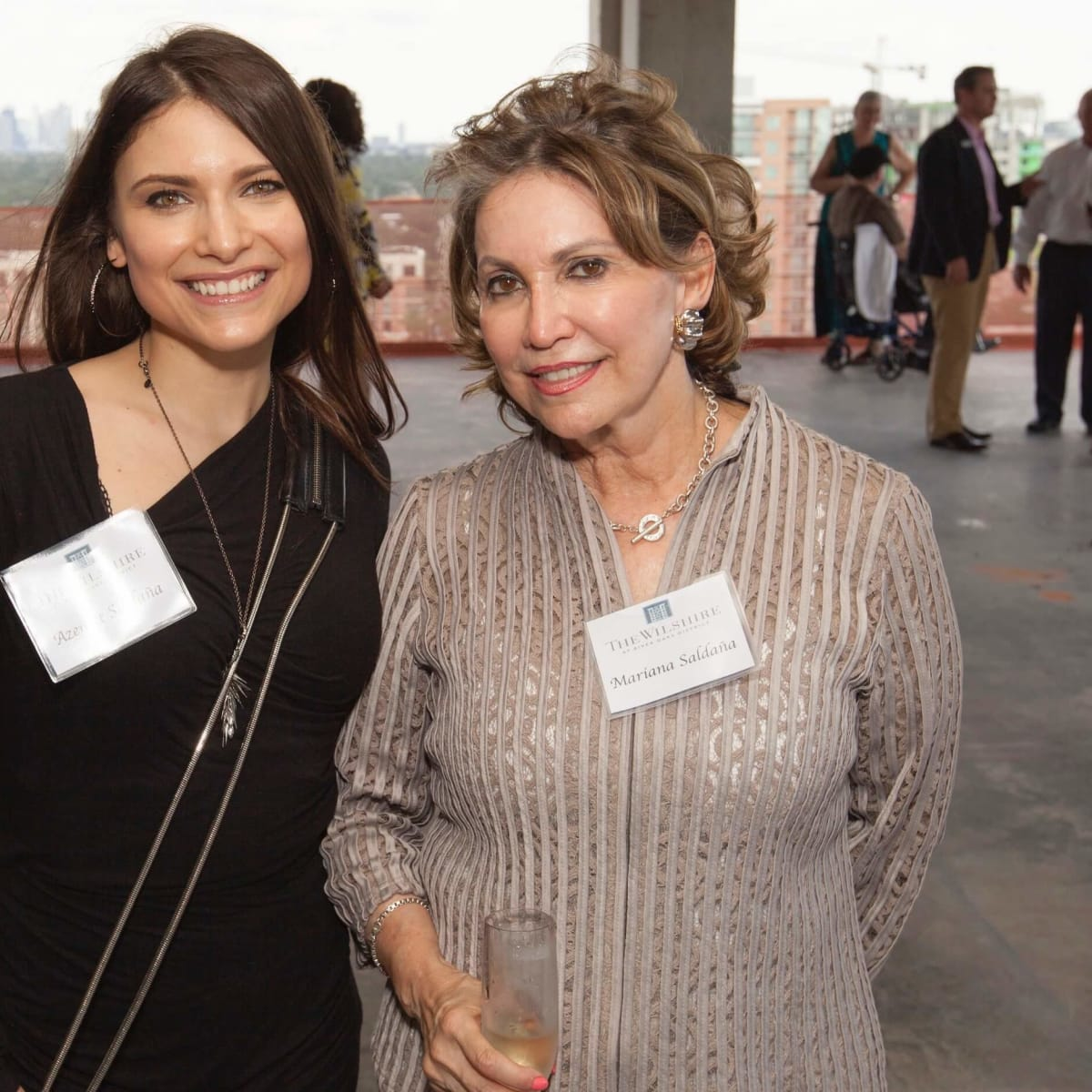 Wilshire Topping Out, July 2016, Azenett Saldana, Mariana Saldana