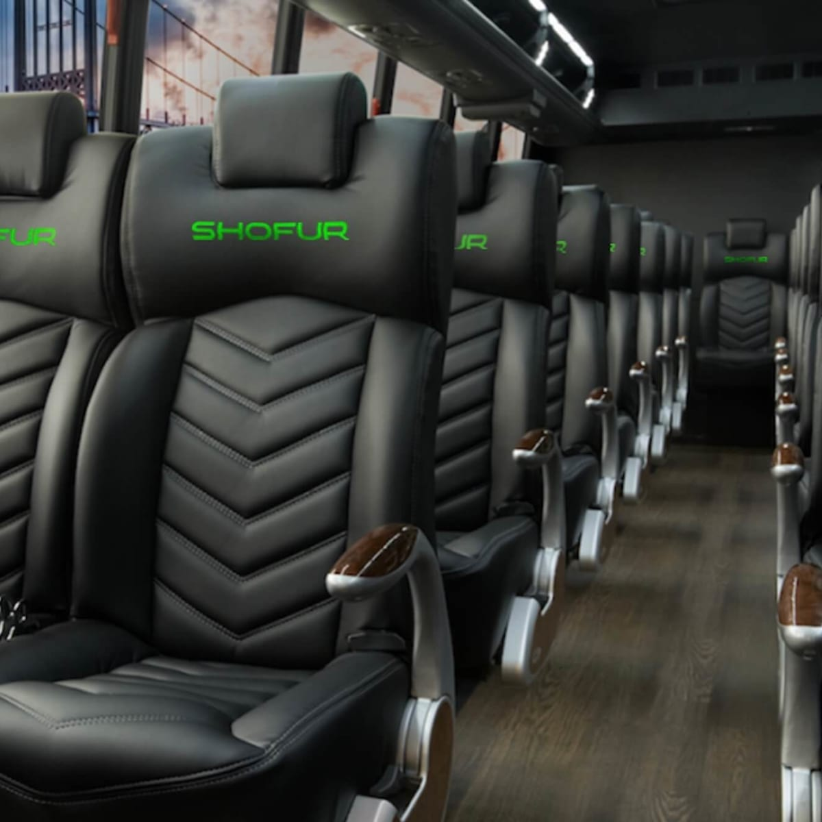 Shofur bus interior
