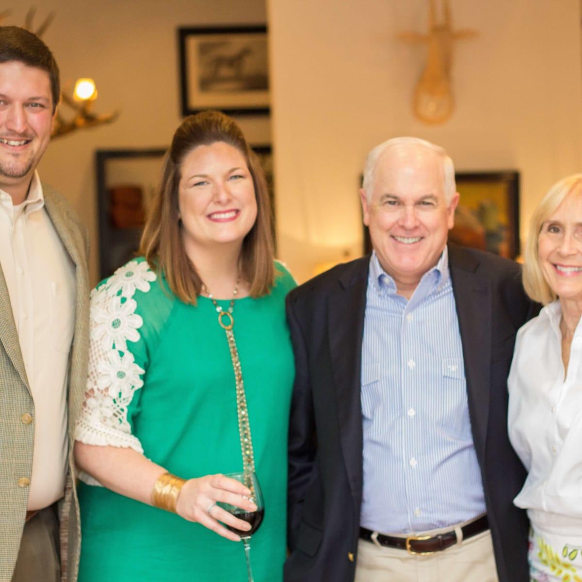 King Ranch Saddle Shop in Houston, August 2016, Lance Hancock, Lindsey Hancock, Bill Gardiner, Nancy Gardiner
