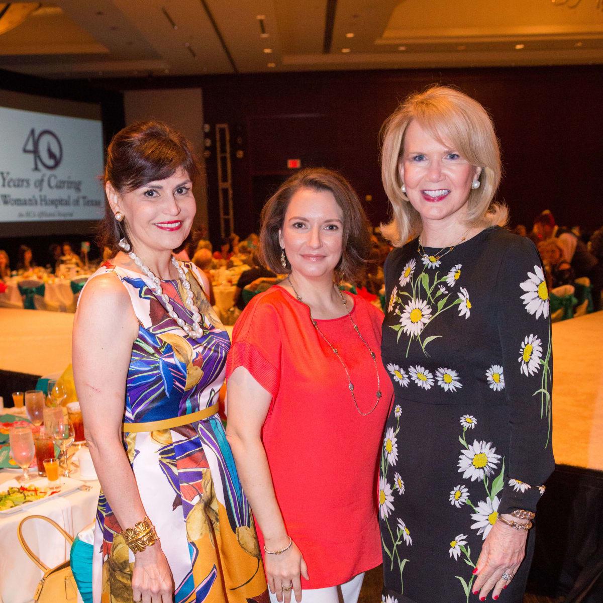 Women's Hospital Labor Day lunch, 8/16,  Denise Castillo-Rhodes, Darcie Wells, Suzan Deison