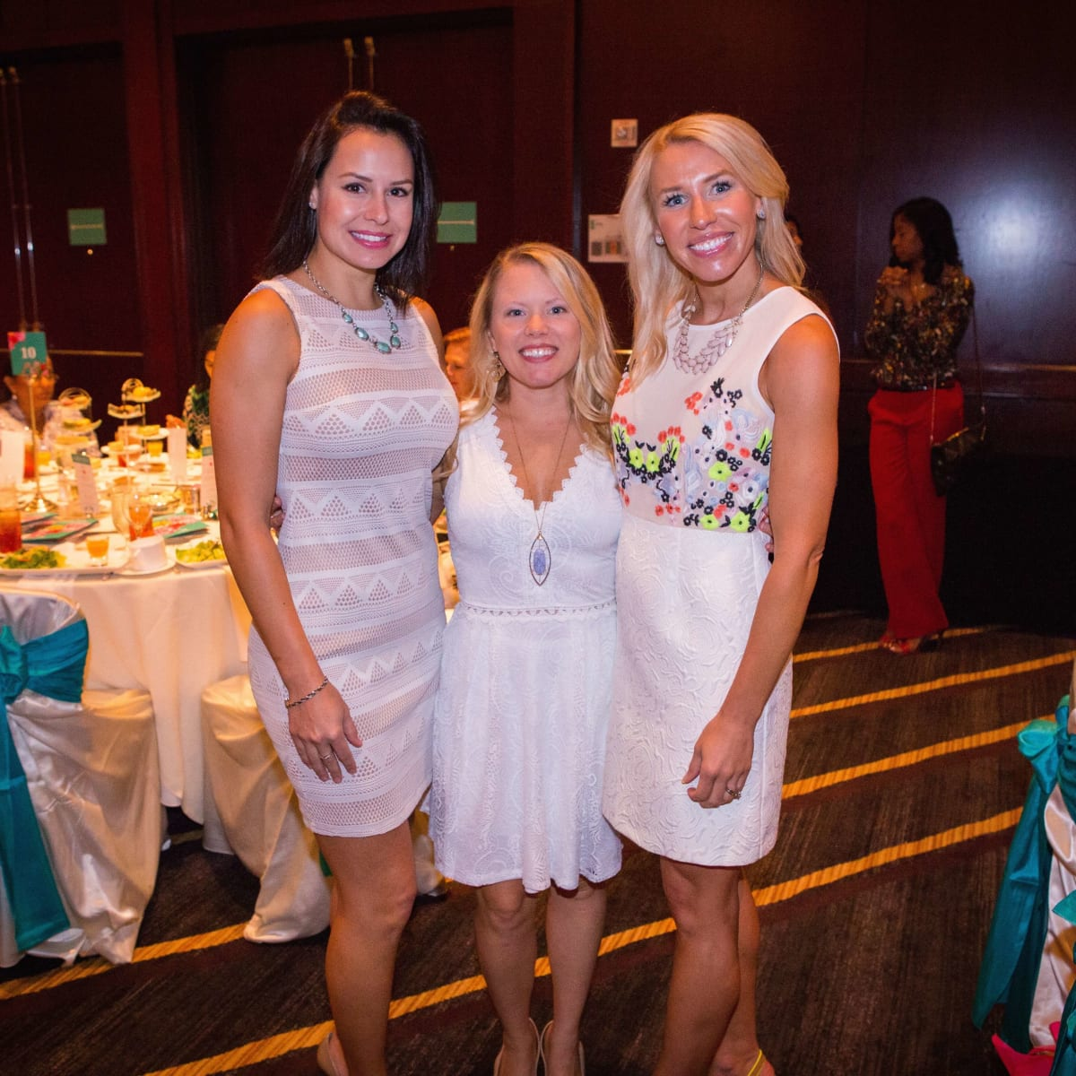 Women's Hospital Labor Day lunch, 8/16, Priscilla Hartranft, Katy Hewson, Kylie Ilieski