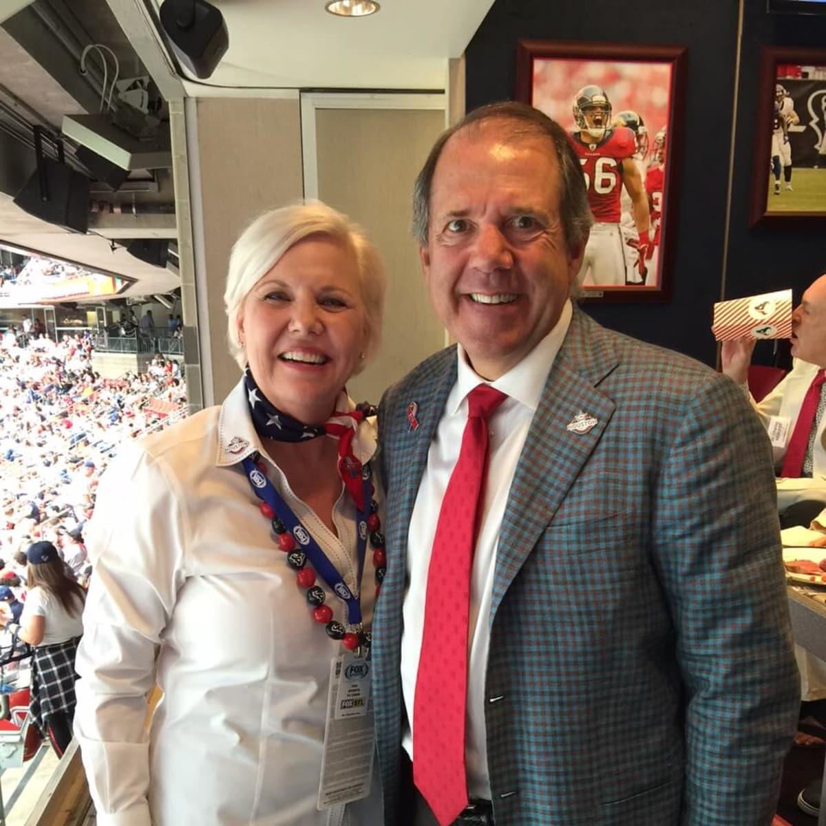 Houston Texans season opener, 9/26 Sallie Sargent, Ric Campo