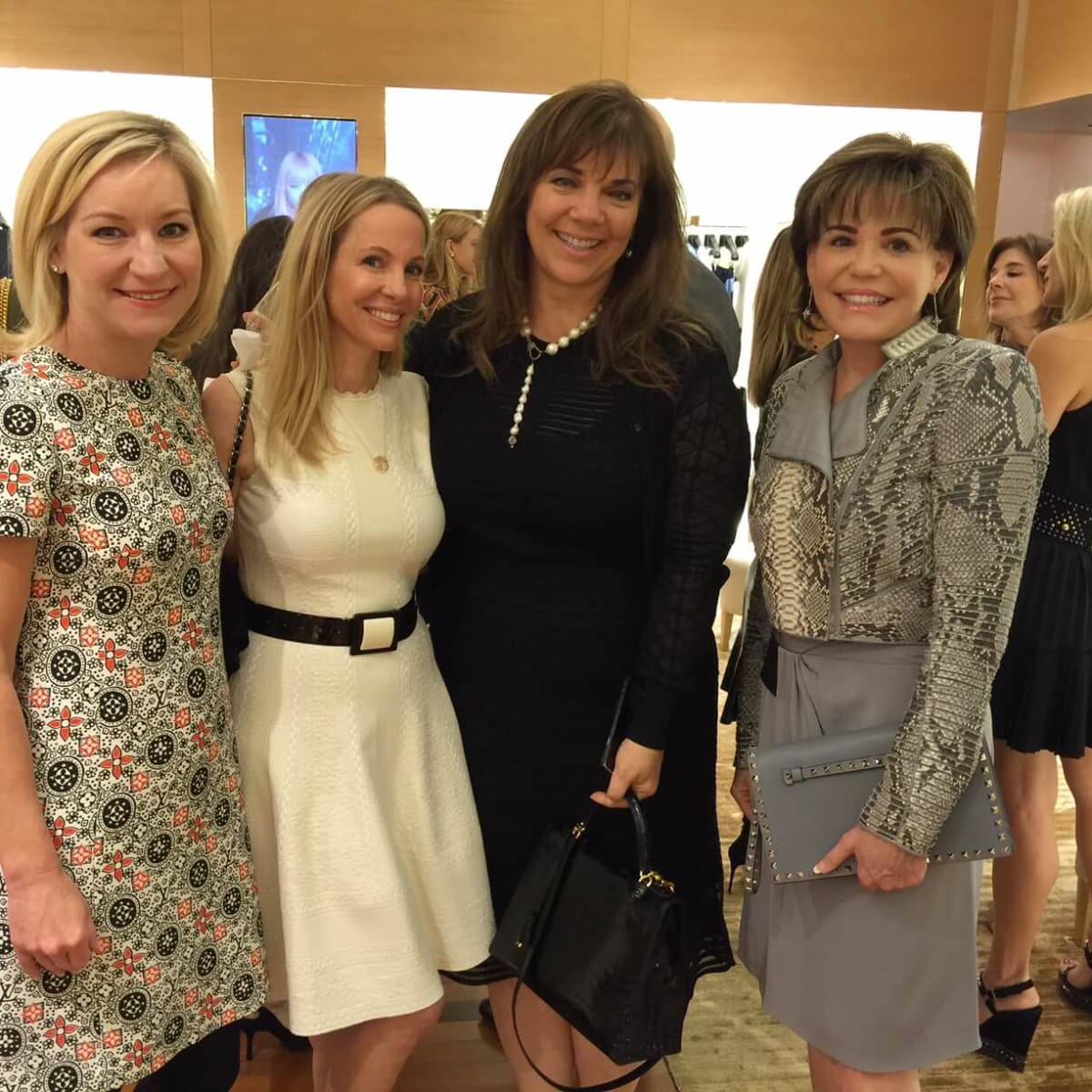 Vogue, Louis Vuitton lunch, 9/26 Emily Paull, Raquel Segal, Terri Havens, Hallie Vandiver