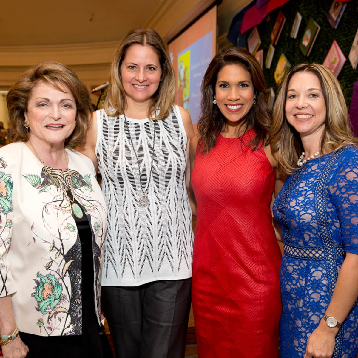 Ladies for Literacy, 9/16, Beth Wolff, Laurel D'Antoni, Rachel McNeill, Julie Baker Finck