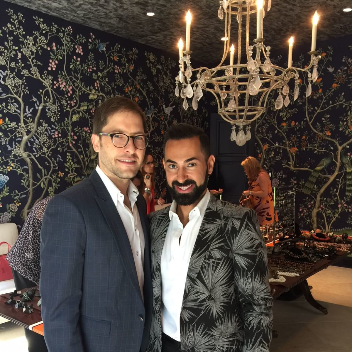 CAC luncheon 9/16, Matthew Campbell Laurenza,  Fady Armanious,