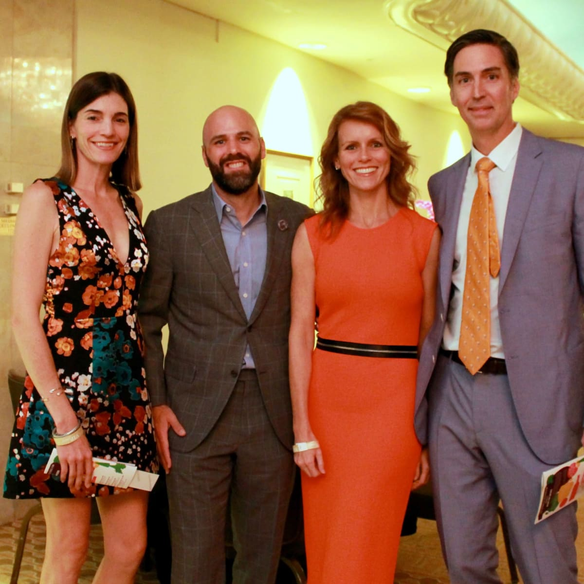 Liz Stepanian, Andy Stepanian, Genevieve Patterson, Shawn Patterson at Recipe for Success Gals