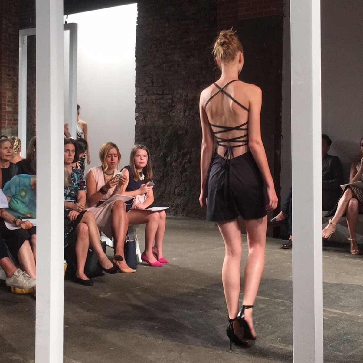 Milly spring 2017 collection back view