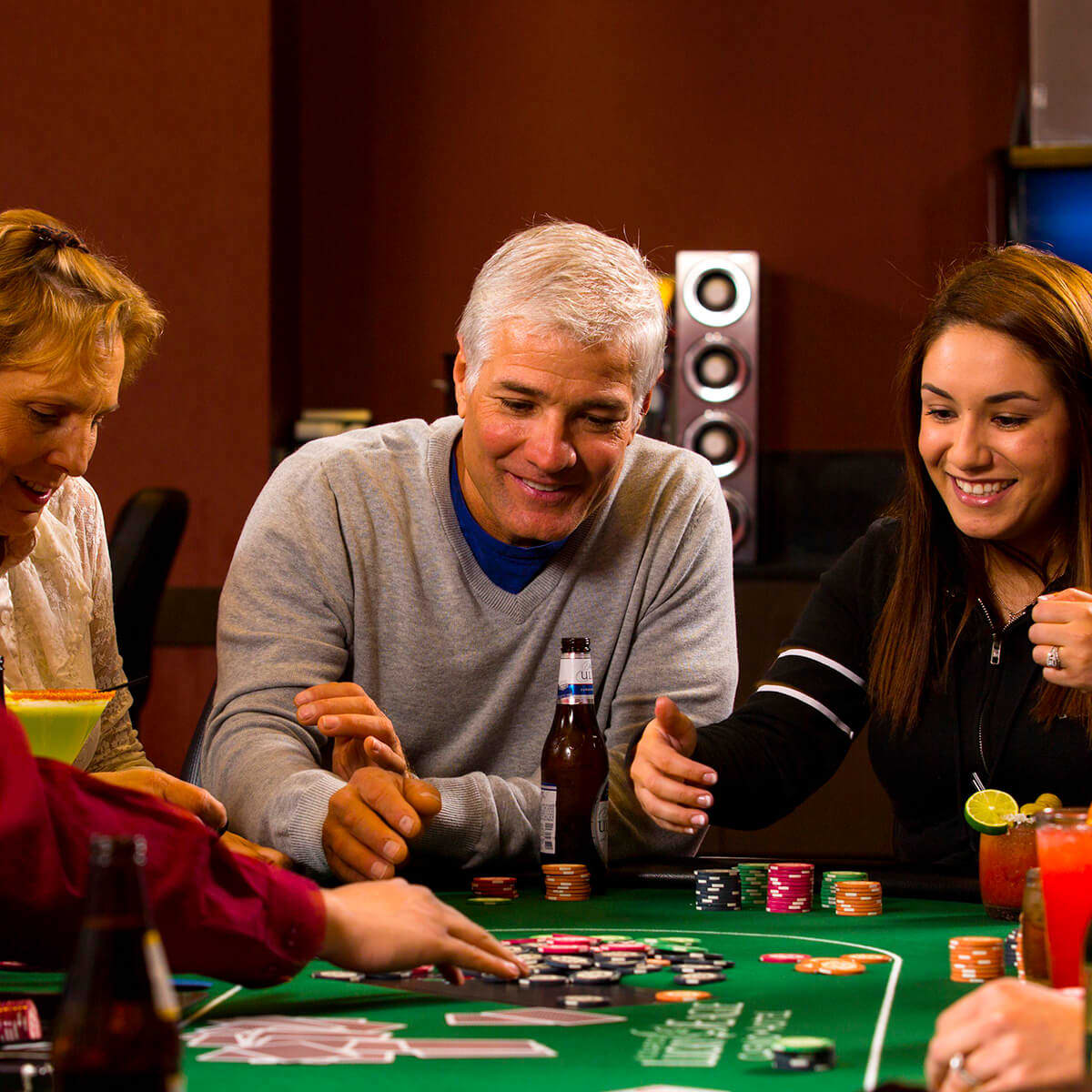 People playing poker
