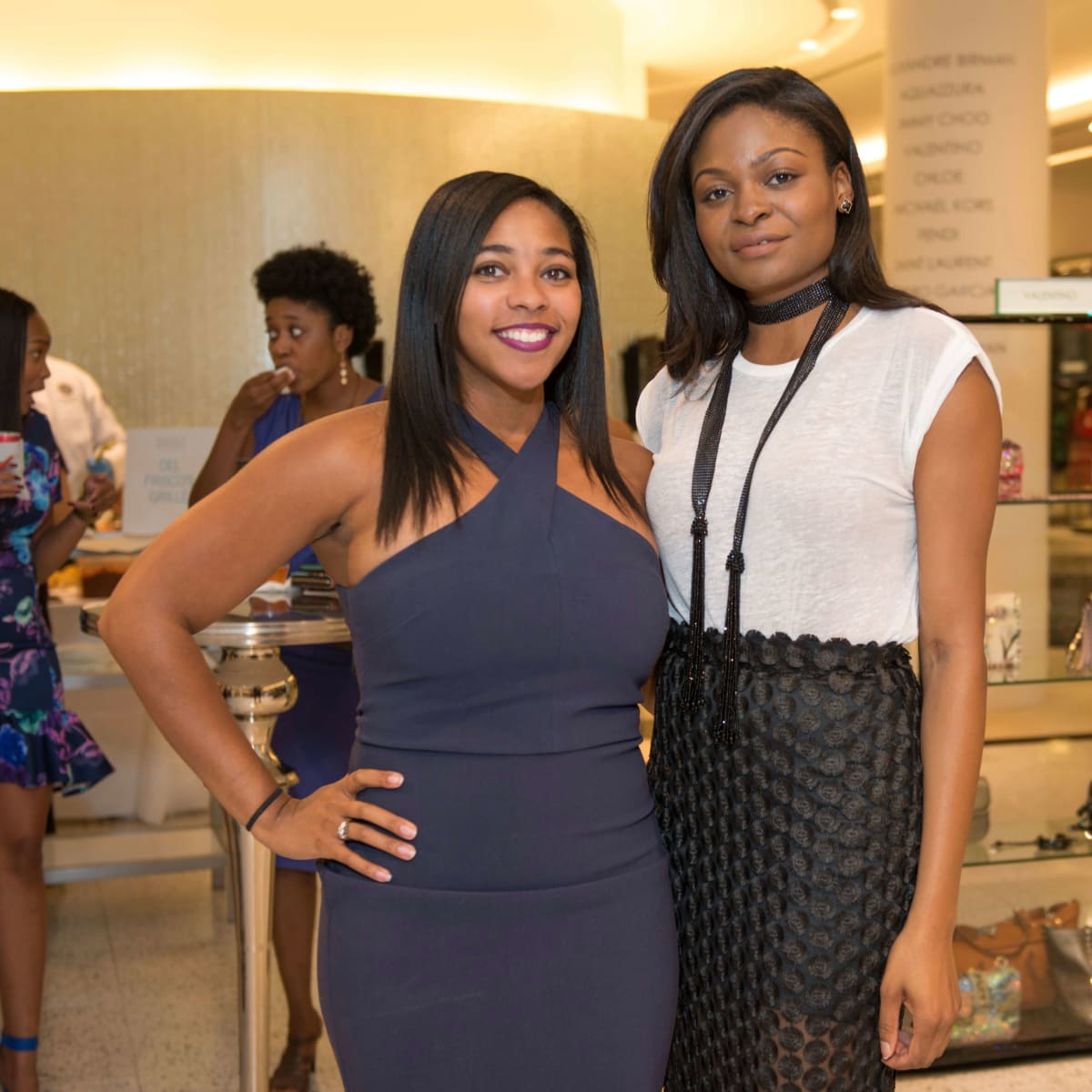 CultureMap Social Houston  Krystal Finch, Ronke Amubieya
