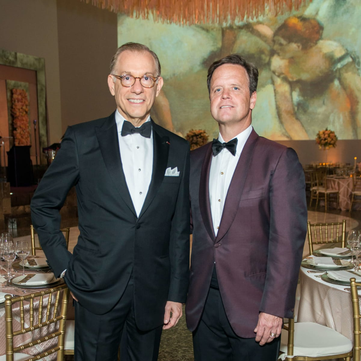 Gary Tinterow, Christopher Gardner at Museum of Fine Arts Houston Grand Gala