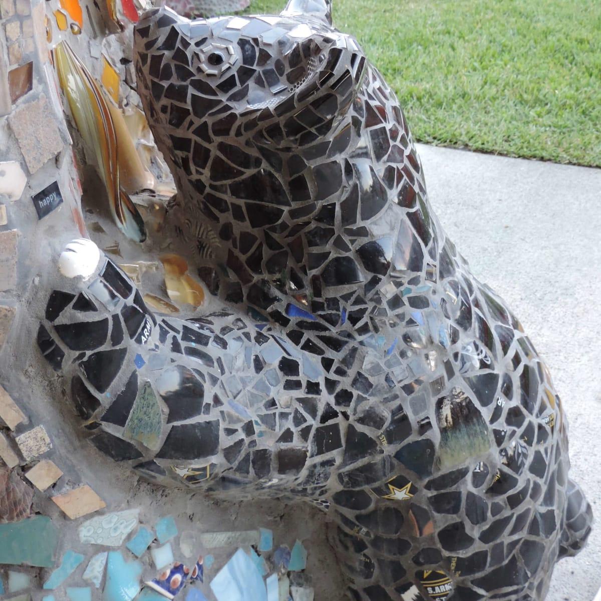 Mosaic Bear, Smither Park