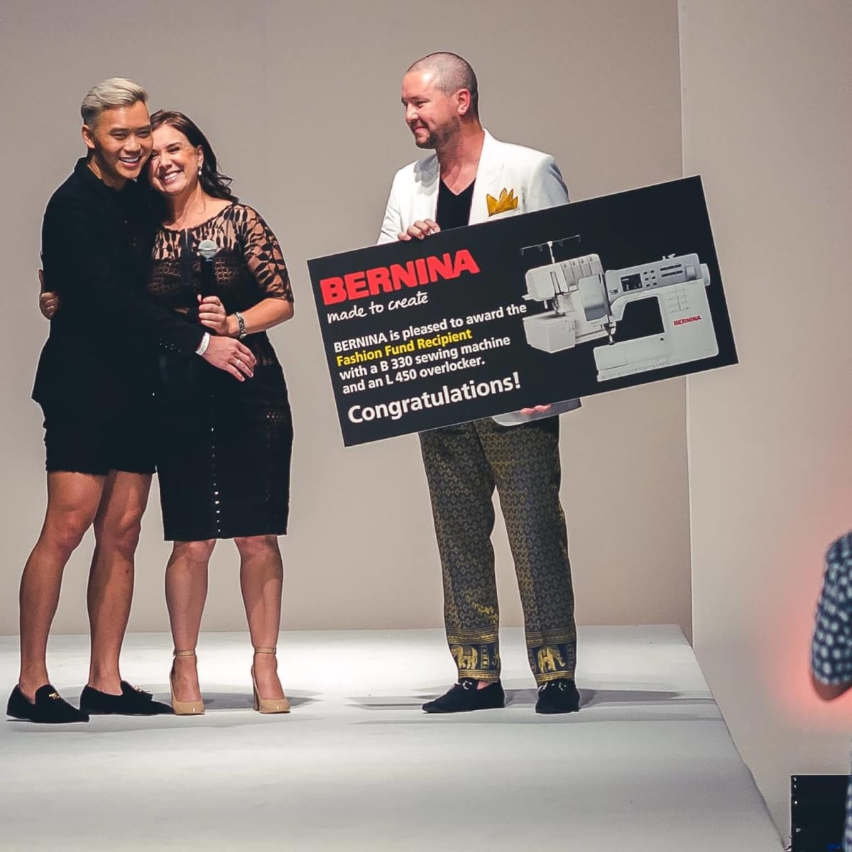 Fashion X Houston, Nicholas Phat Nguyen, Matt Swinney, Bernina award
