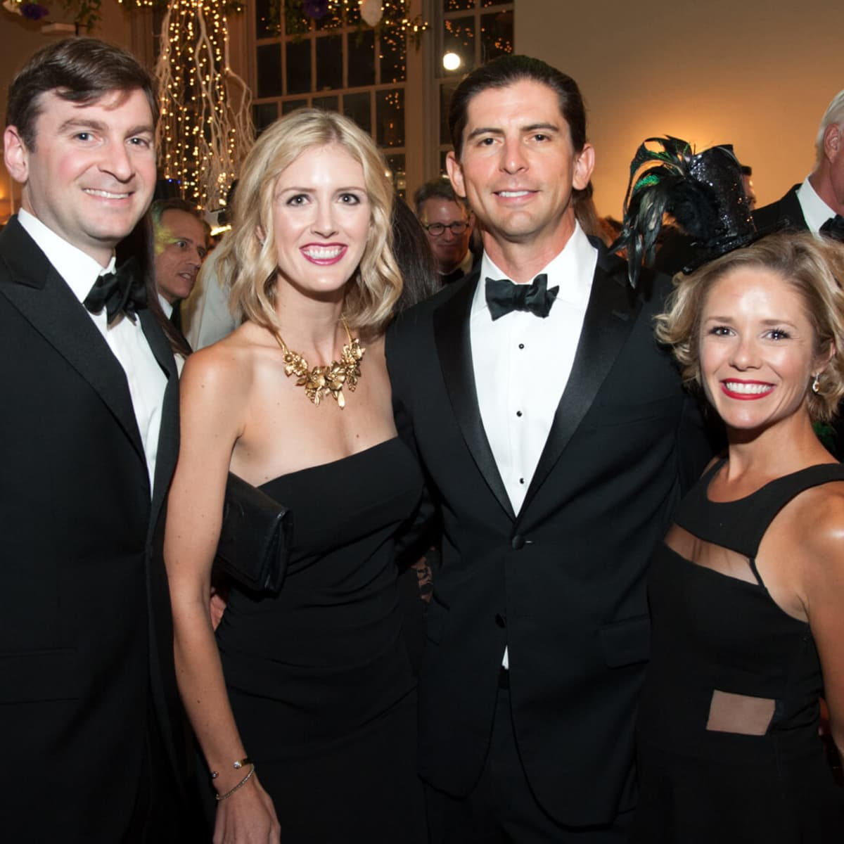 Houston, Childrens Museum of Houston Mad Hatters Ball, Oct. 2016, David Coleman, Abigail Coleman, Kyle Charles, Casey Charles