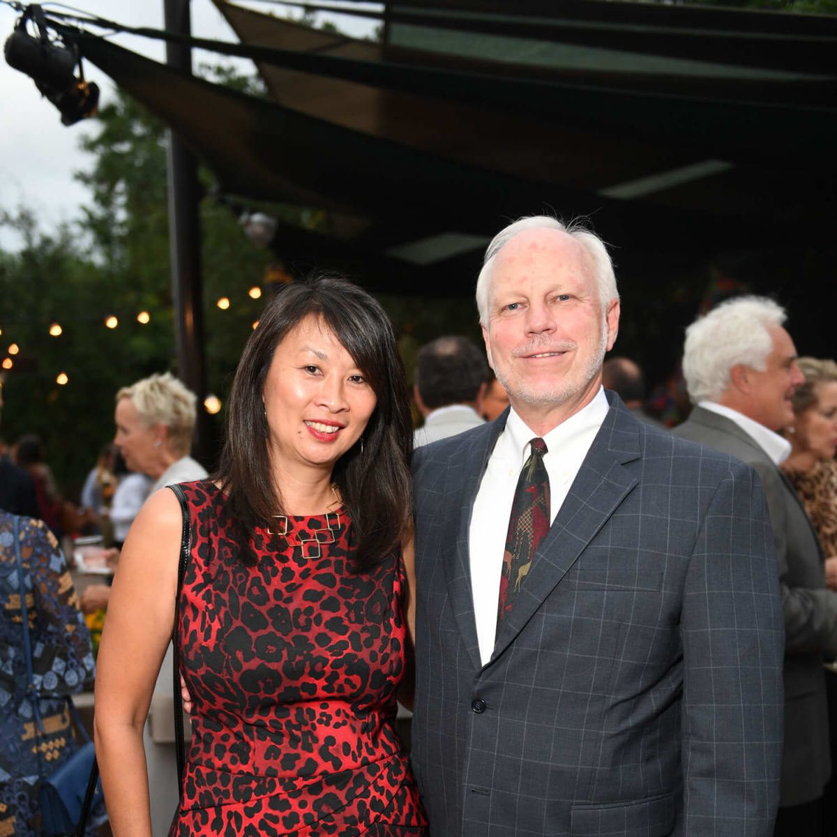 Houston, Zoo Ball, Oct. 2016, Sue Chin, Lee Ehmke