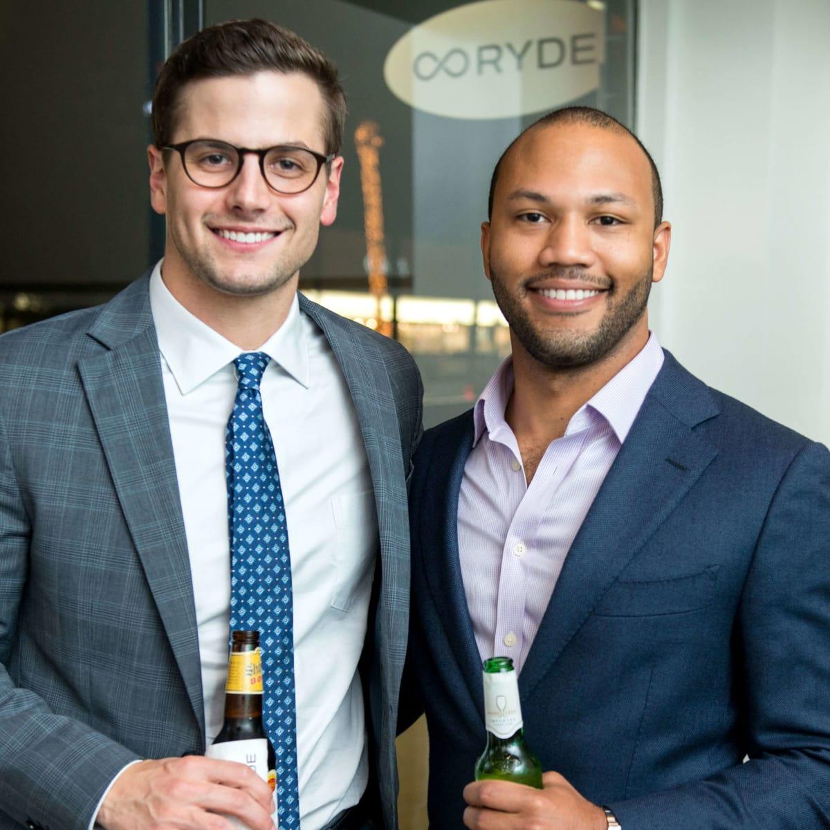 Houston, RYDE/Rose Foundation event, Oct. 2016, Aaron Charbonnet, Chris Burns