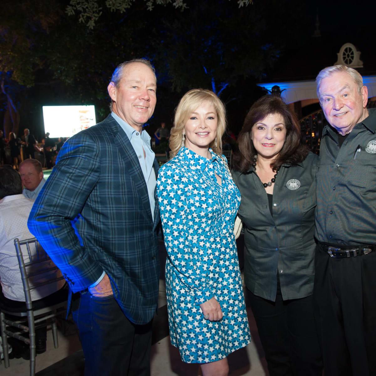 Houston, HPD True Blue Gala, Oct. 2016, Jim Crane, Whitney Wheeler, Laura Ward, Dave Ward