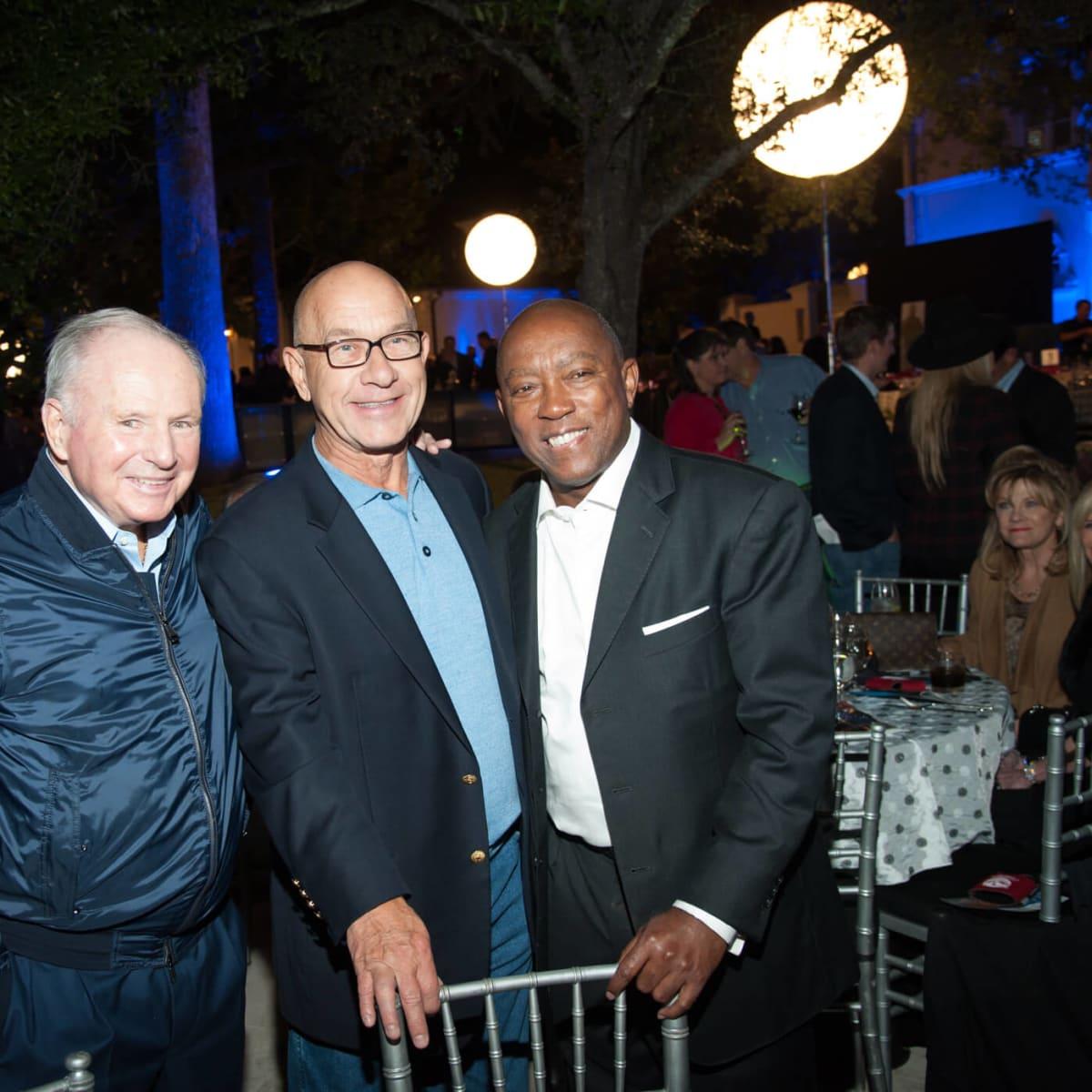 Houston, HPD True Blue Gala, Oct. 2016, Don Sanders, Senator John Whitmire, Mayor Sylvester Turner