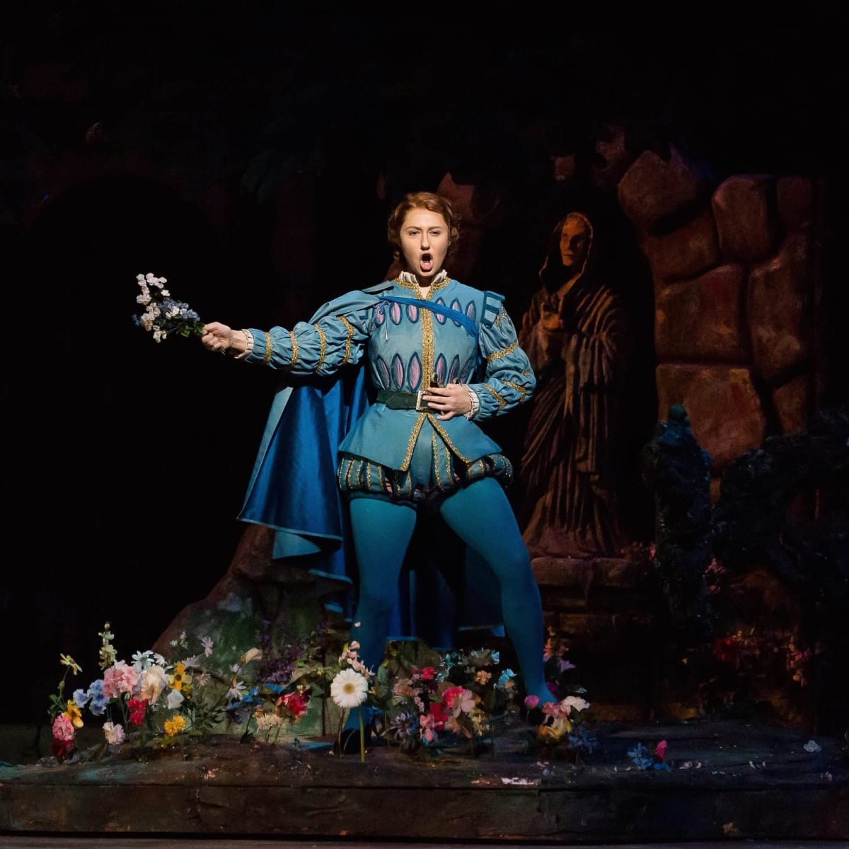 Houston Grand Opera Faust, Meghan Mikailovna Samarin