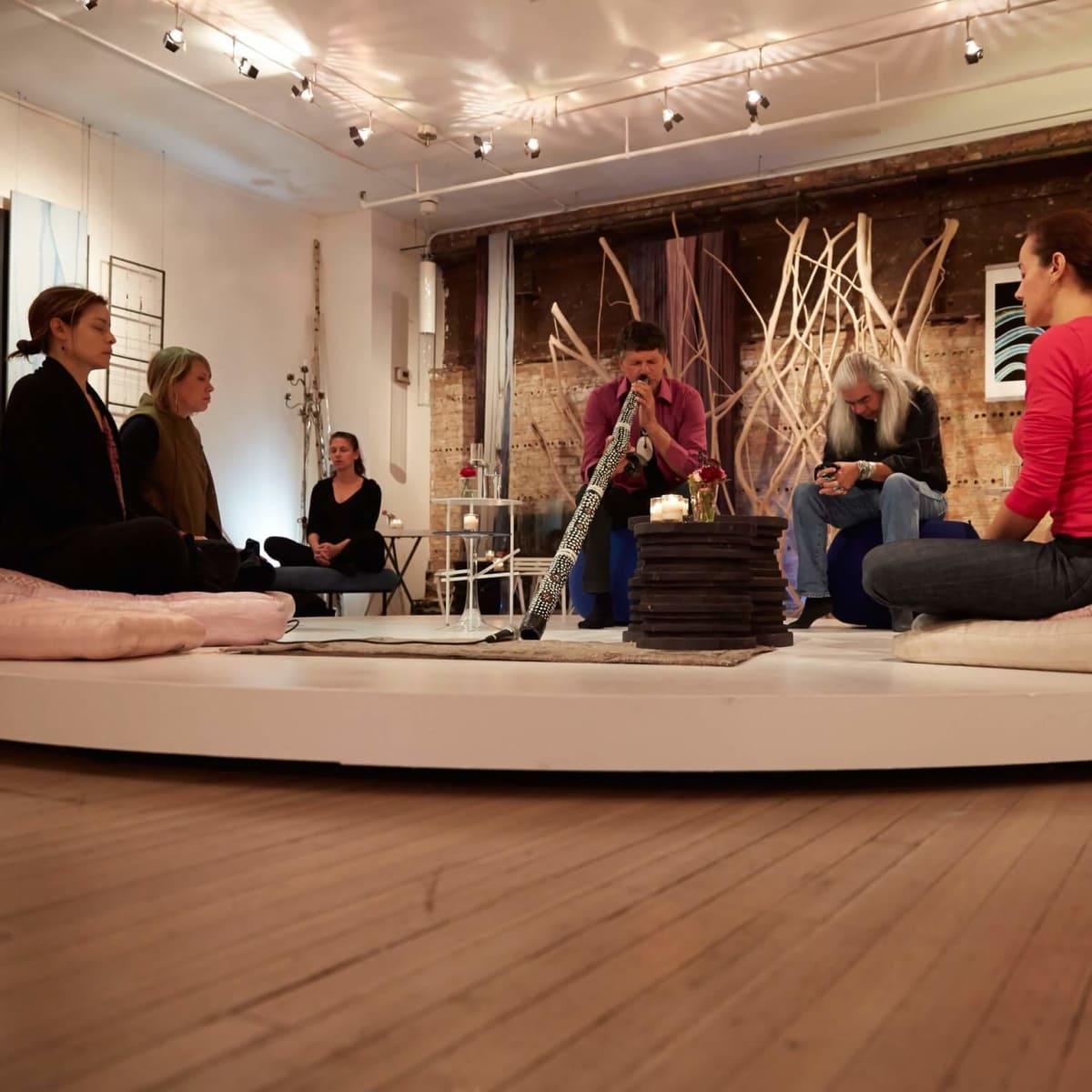 Nomad Two Worlds Foundation Ajinda Sound Experience Meditation