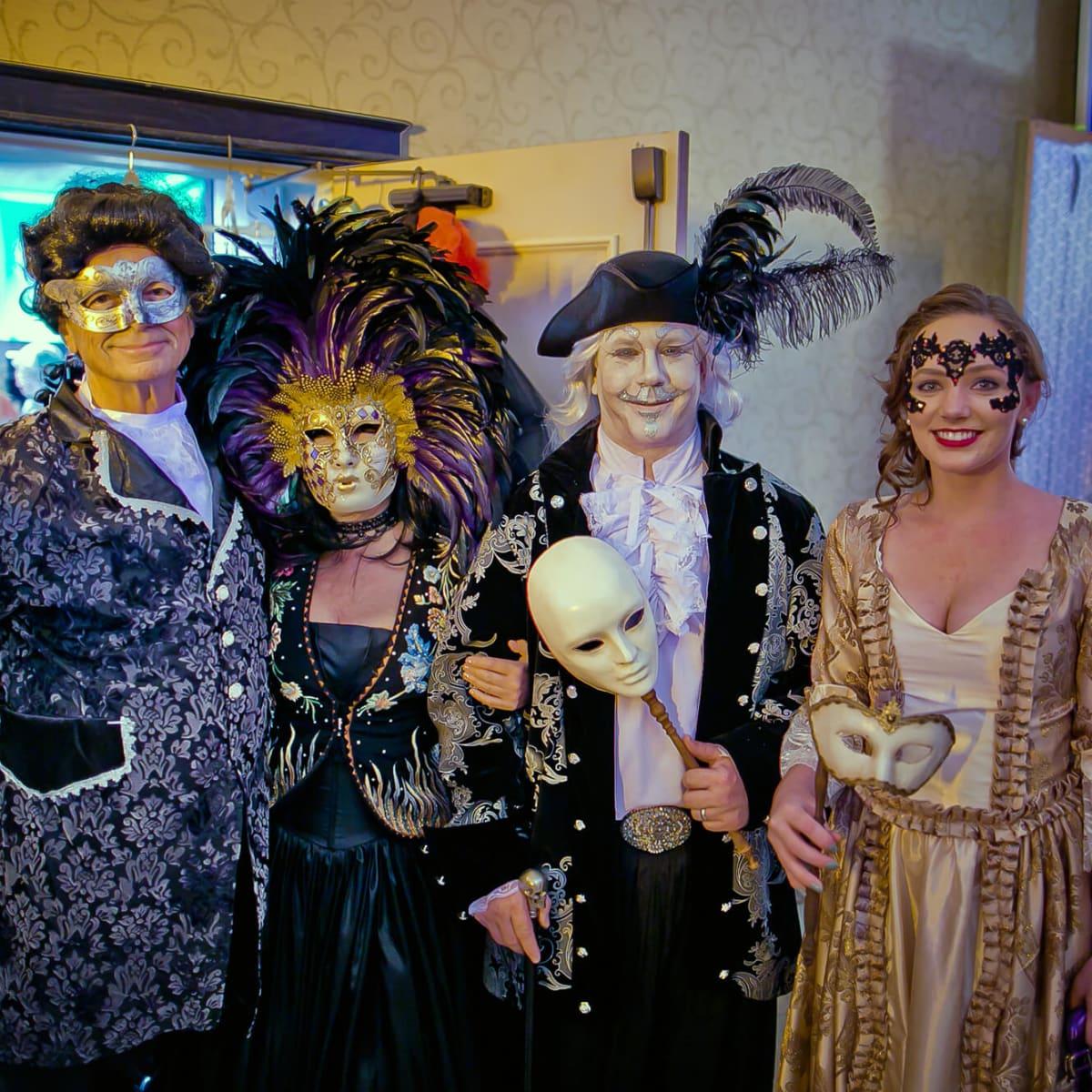 Houston, Orange Show gala, Oct 2016, Paul Easterwood, Pamela George, Will Robinson, Julia Robinson