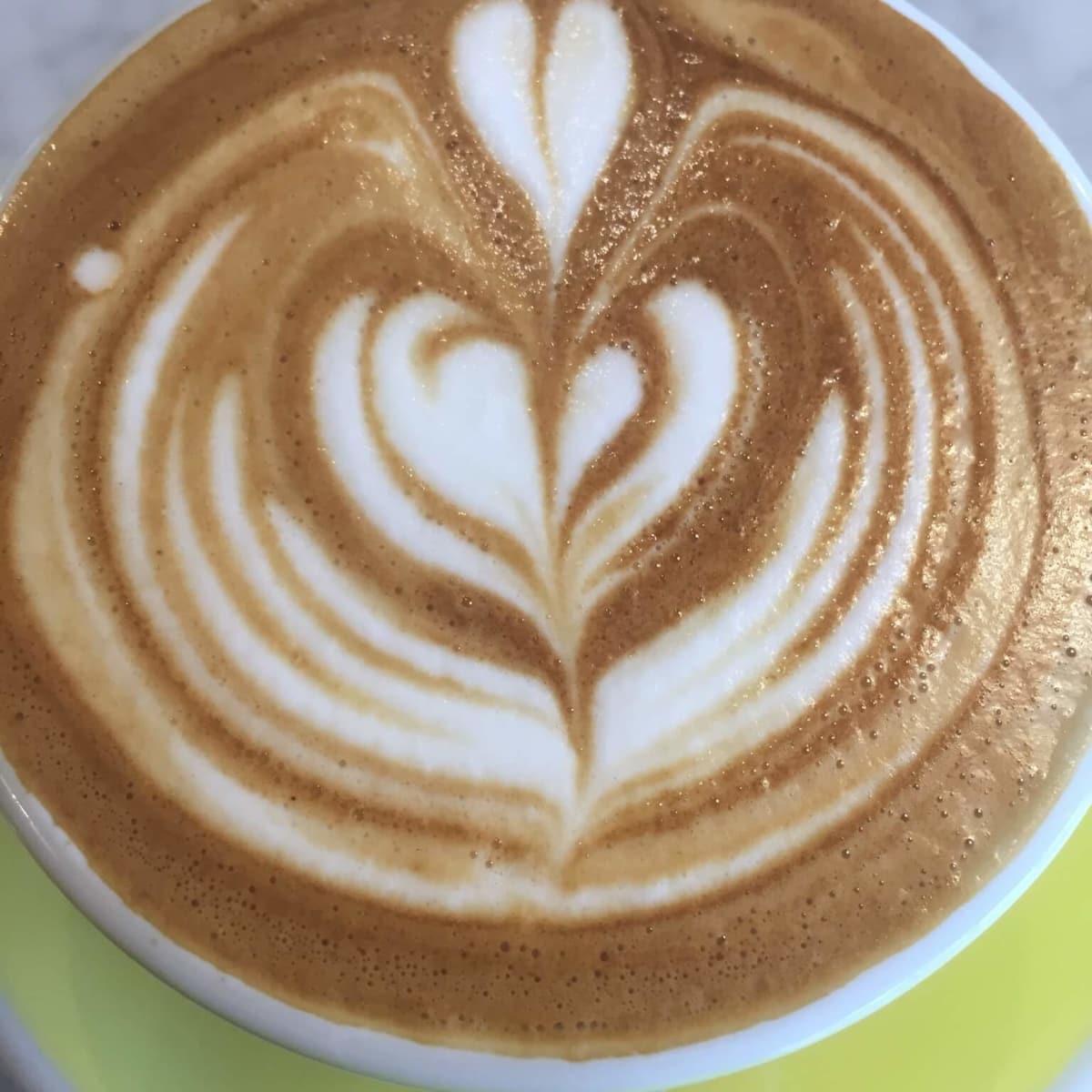 Dandelion cafe flat white