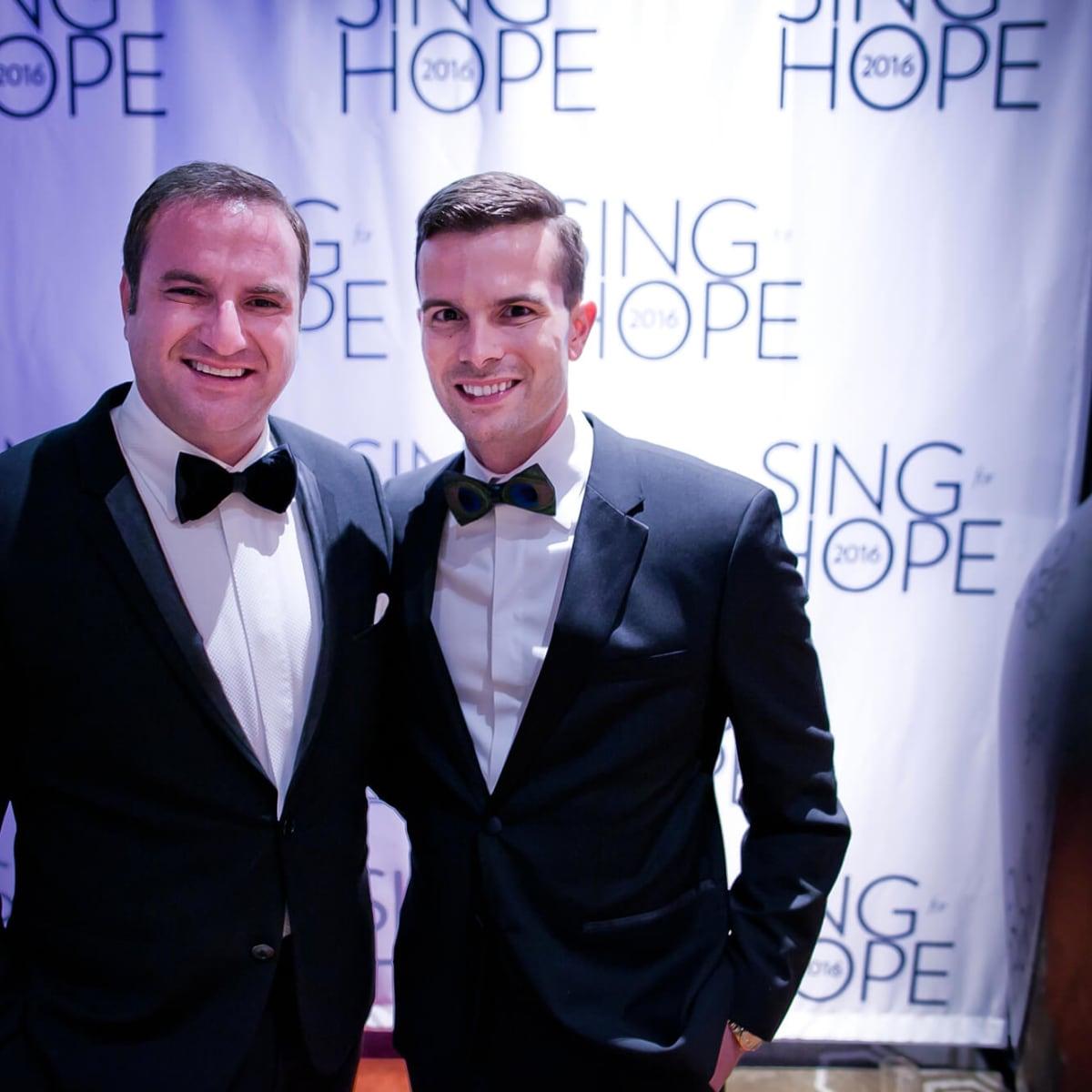 Houston, Sing for Hope gala, Nov. 2016, Tony Gibson, JD Adamson