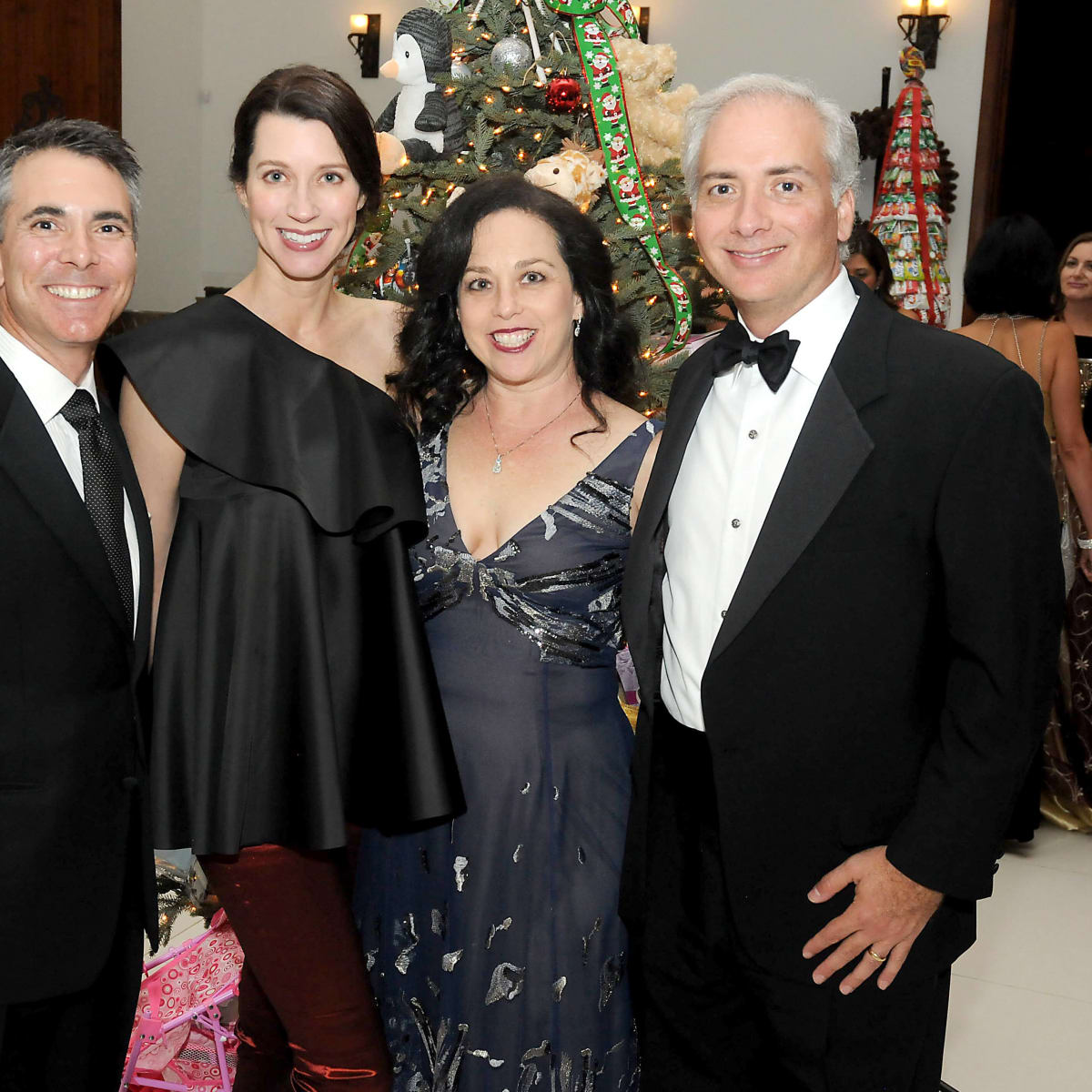 Houston, Trees of Hope gala, Nov. 2016, Steve Jones, Laura Jones, Viviana Denechaud, David Denechaud