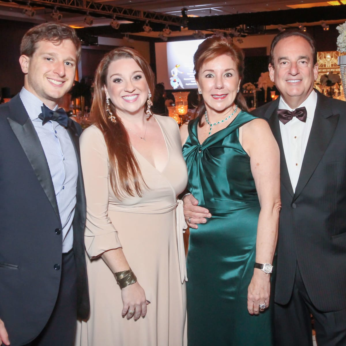 Jacob, Laura, Elizabeth and Alan Stein
