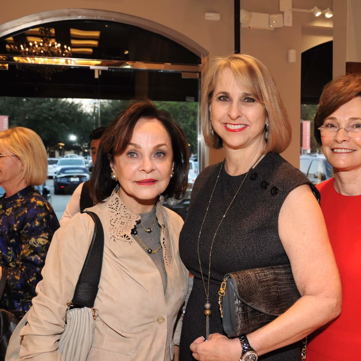 American Heart Association Circle of Red at Elizabeth Anthony, Jane DiPaolo, Susan Hansen, Bobbie Nau
