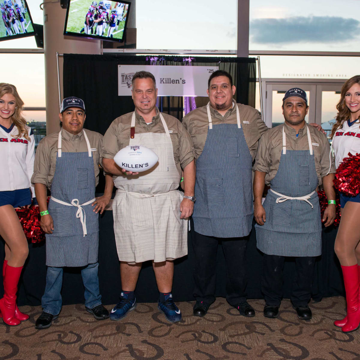 Taste of the Texans Ronnie Killen Teddy Lopez