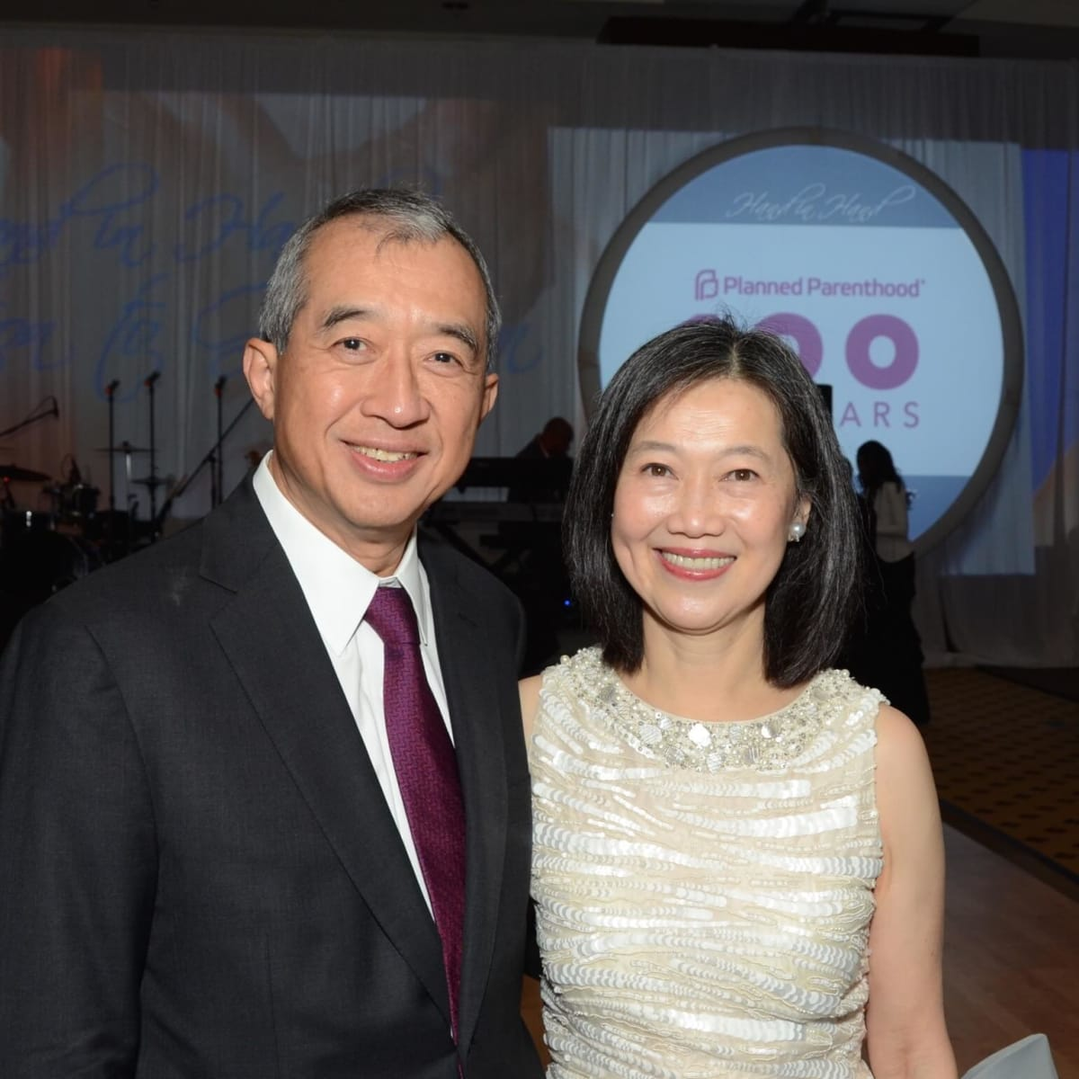 Planned Parenthood Gala, Albert and Anne Chao