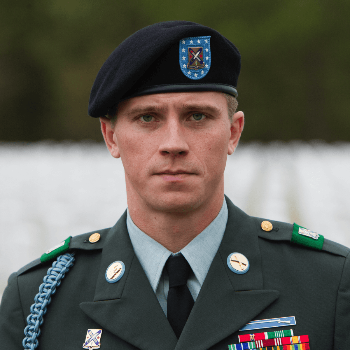 Garrett Hedlund in Billy Lynn's Long Halftime Walk