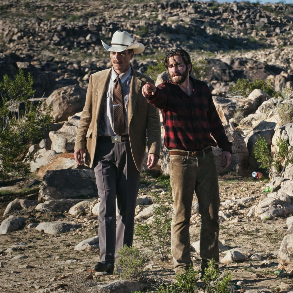 Michael Shannon and Jake Gyllenhaal in Nocturnal Animals
