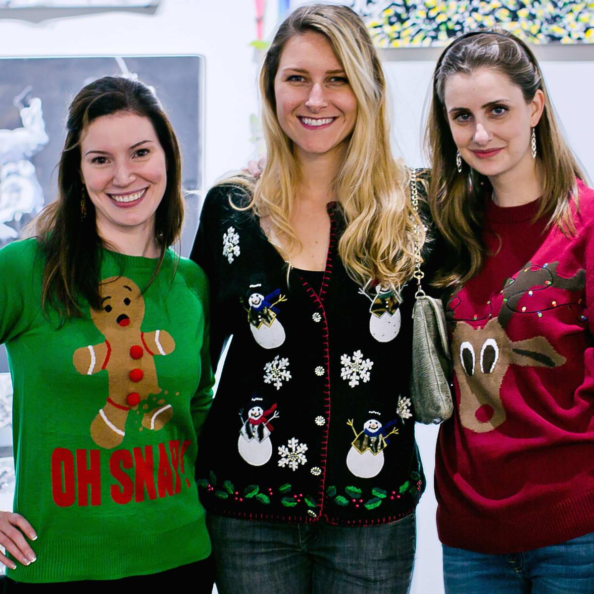 Houston, Fresh Arts Winter Holiday Art Market, Nov 2016, Trish McCaulley, Kendall Aubert, Katie Ryan