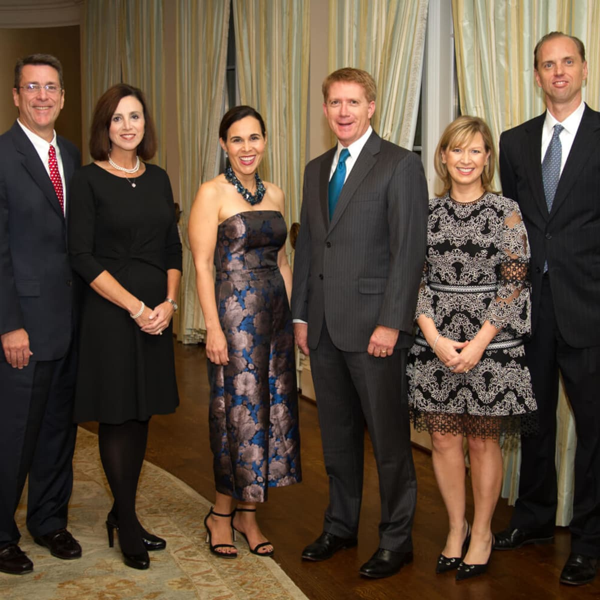 Houston, Legal Community's Harvest Celebration, Nov 2016, Tom Ganucheau, Lisa Ganucheau, Dana Levy Kelly, Neil Kelly, Denise Scofield, John Scofield
