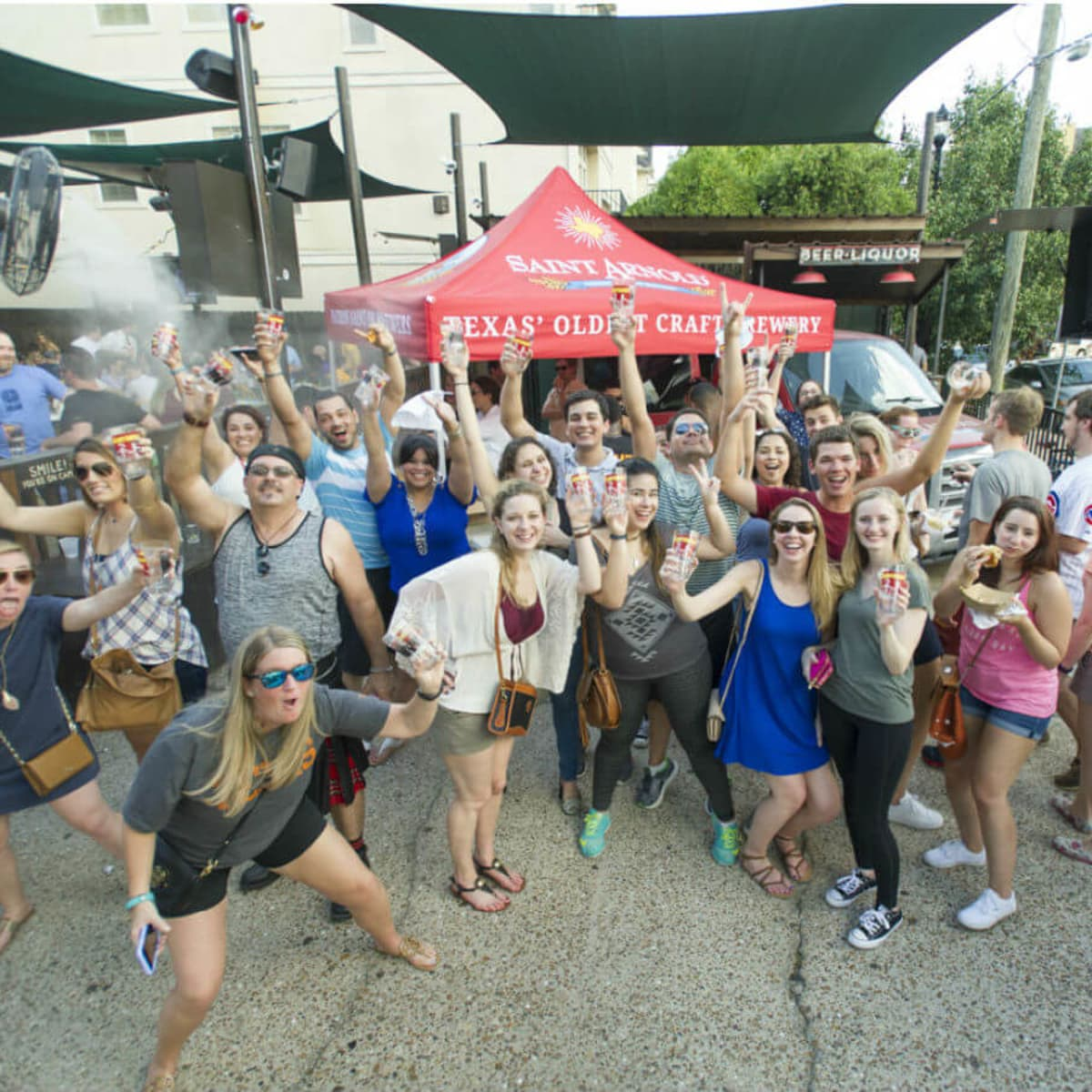 Saint Arnold Brewing Co. Pub Crawl