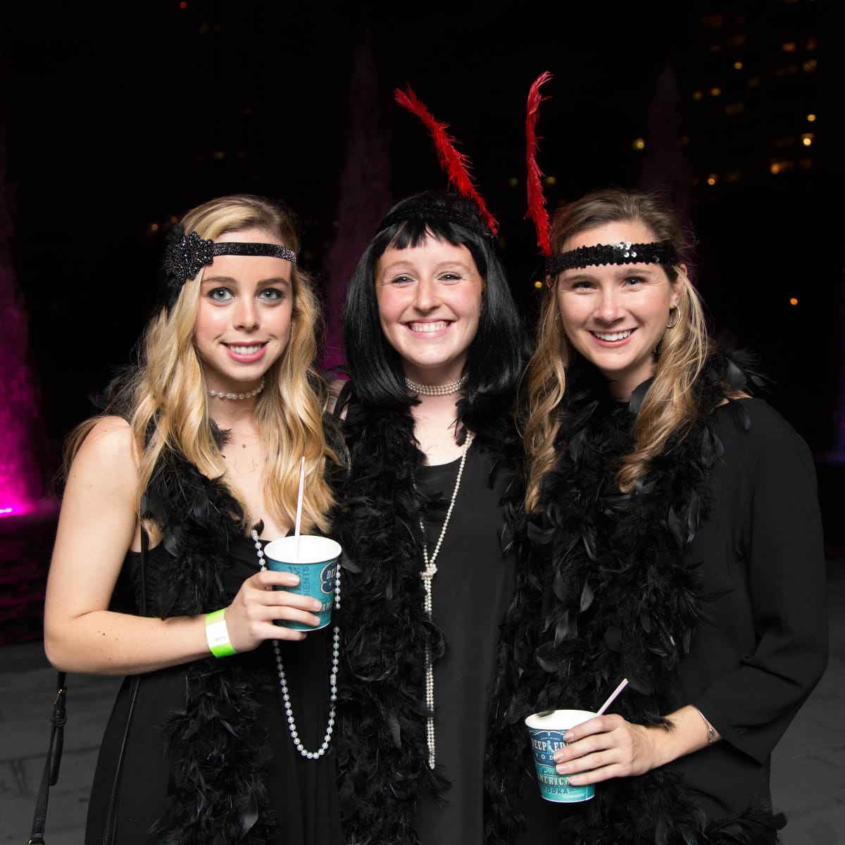 Houston, Urban Green's Gatsby in the Gardens, Nov 2016, Blair Golden, Morgan Doyle, Leah Lapin