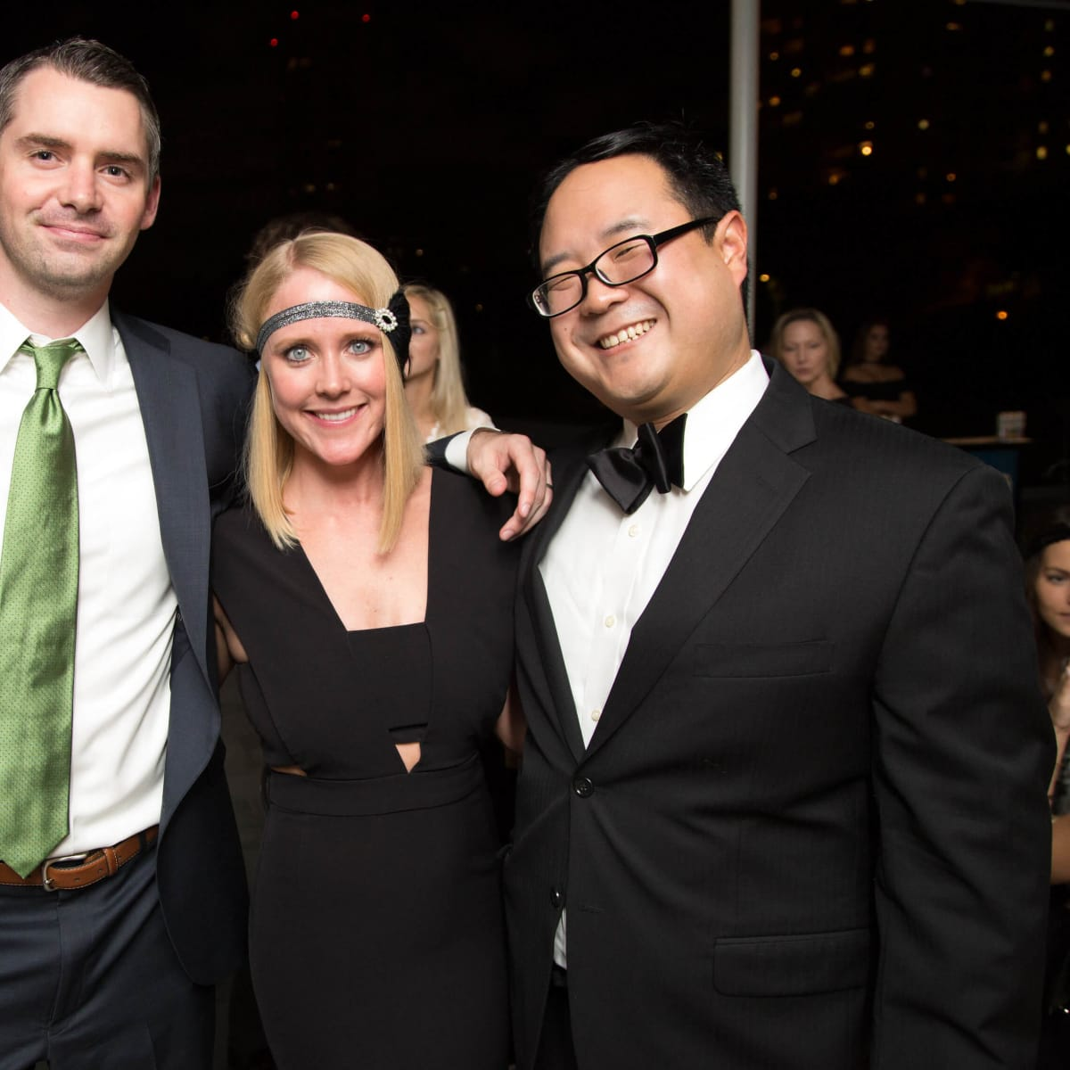 Houston, Urban Green's Gatsby in the Gardens, Nov 2016, Holly Waters, Brian Waters, Randy Ho