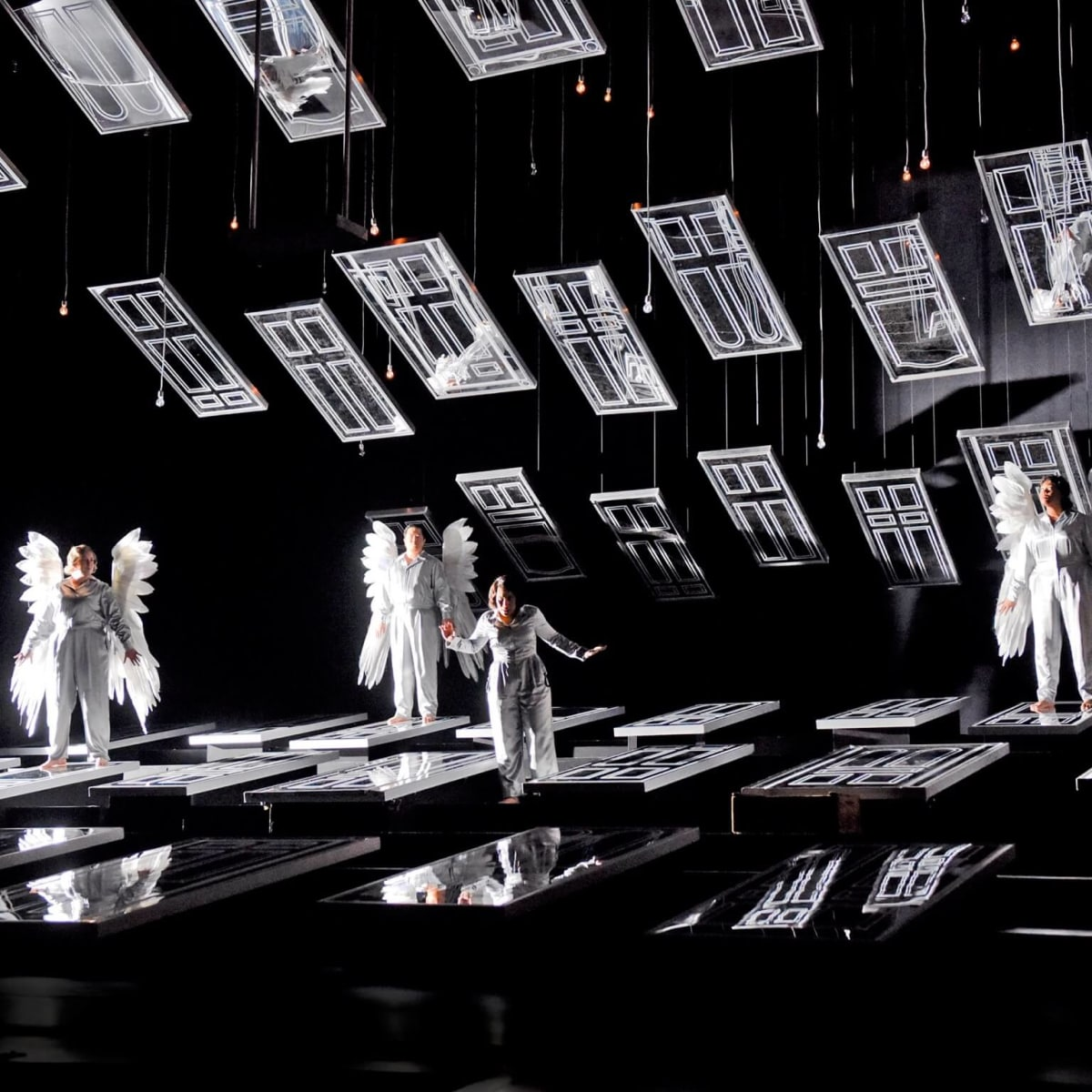 Houston Grand Opera It's A Wonderful Life angels