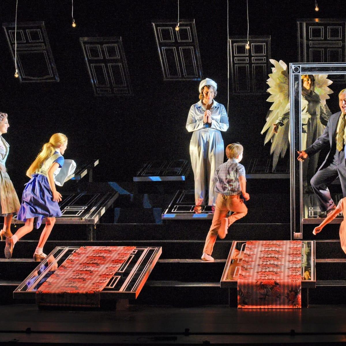 Houston Grand Opera It's A Wonderful Life, Andrea Carroll, C.J. Friend, Talise Trevigne, Levi Smith