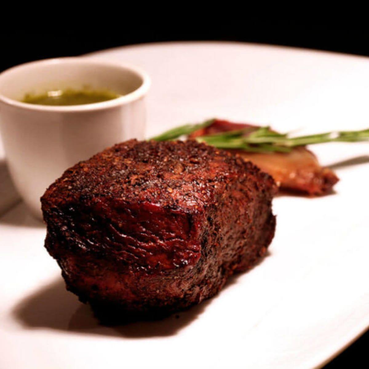Steak at Knife in Dallas