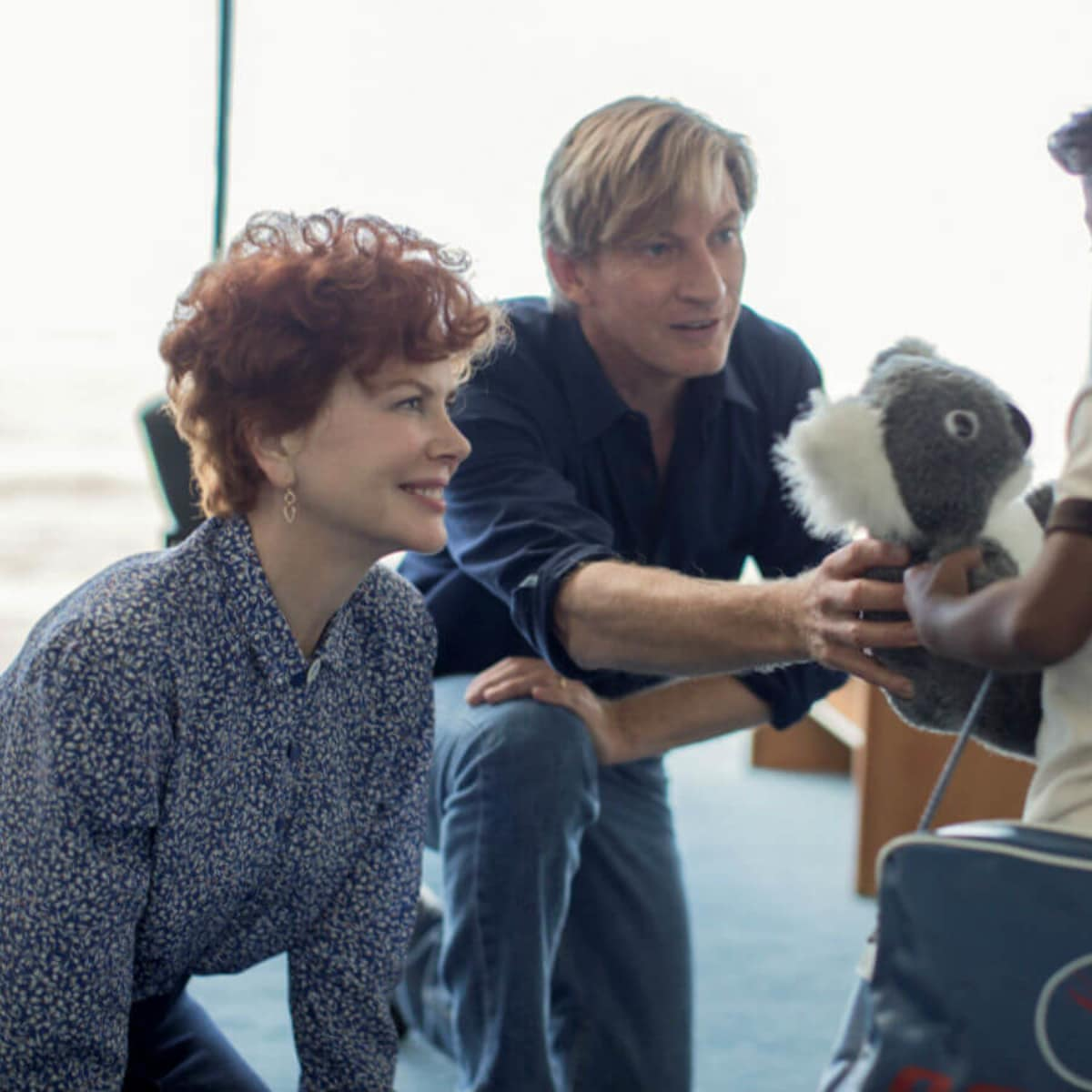 Nicole Kidman, David Wenham, and Sunny Pawar in Lion