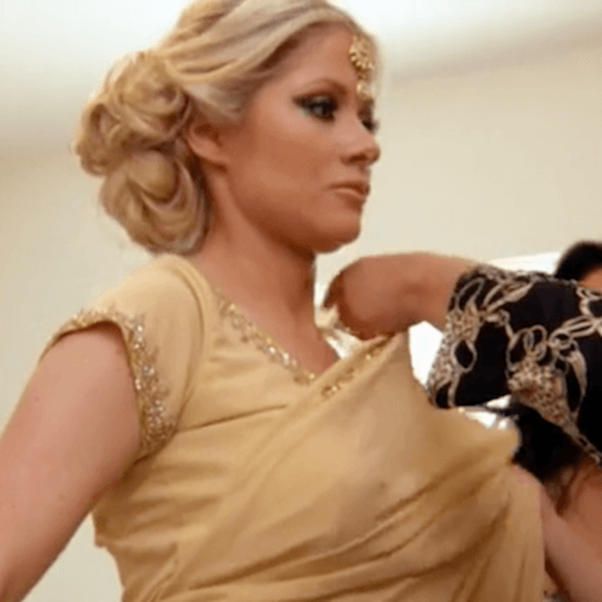 Married to Medicine Houston finale Rachel is fitted for a sari