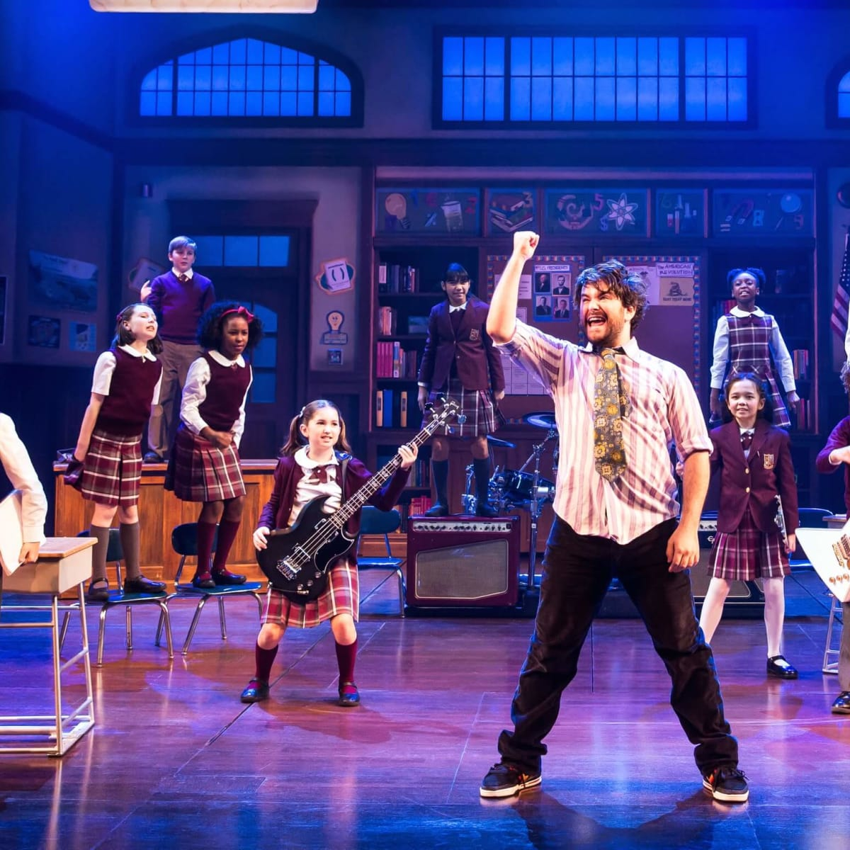 Alex Brightman in School of Rock
