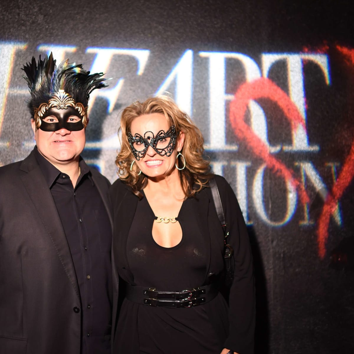 Paul Brown, Pam Brown at Heart of Fashion Masquerade Ball