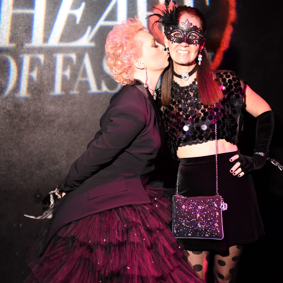 Heart of Fashion Masquerade Ball Vivian Wise, Beth Muecke
