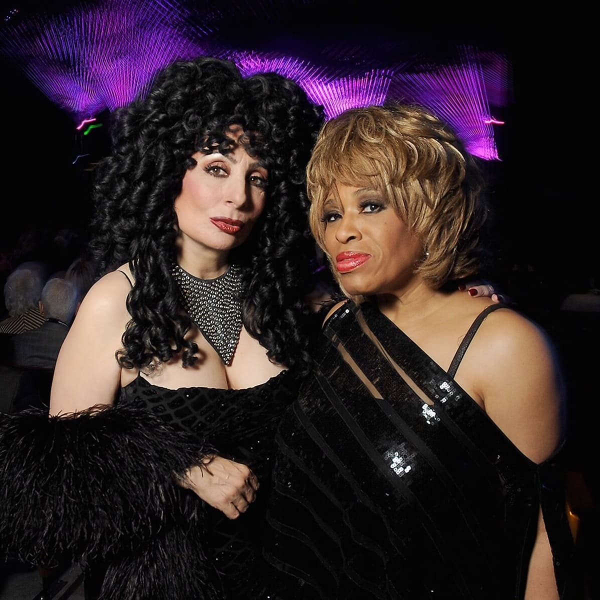 Smart Financial Centre impersonators Cher and Tina Turner