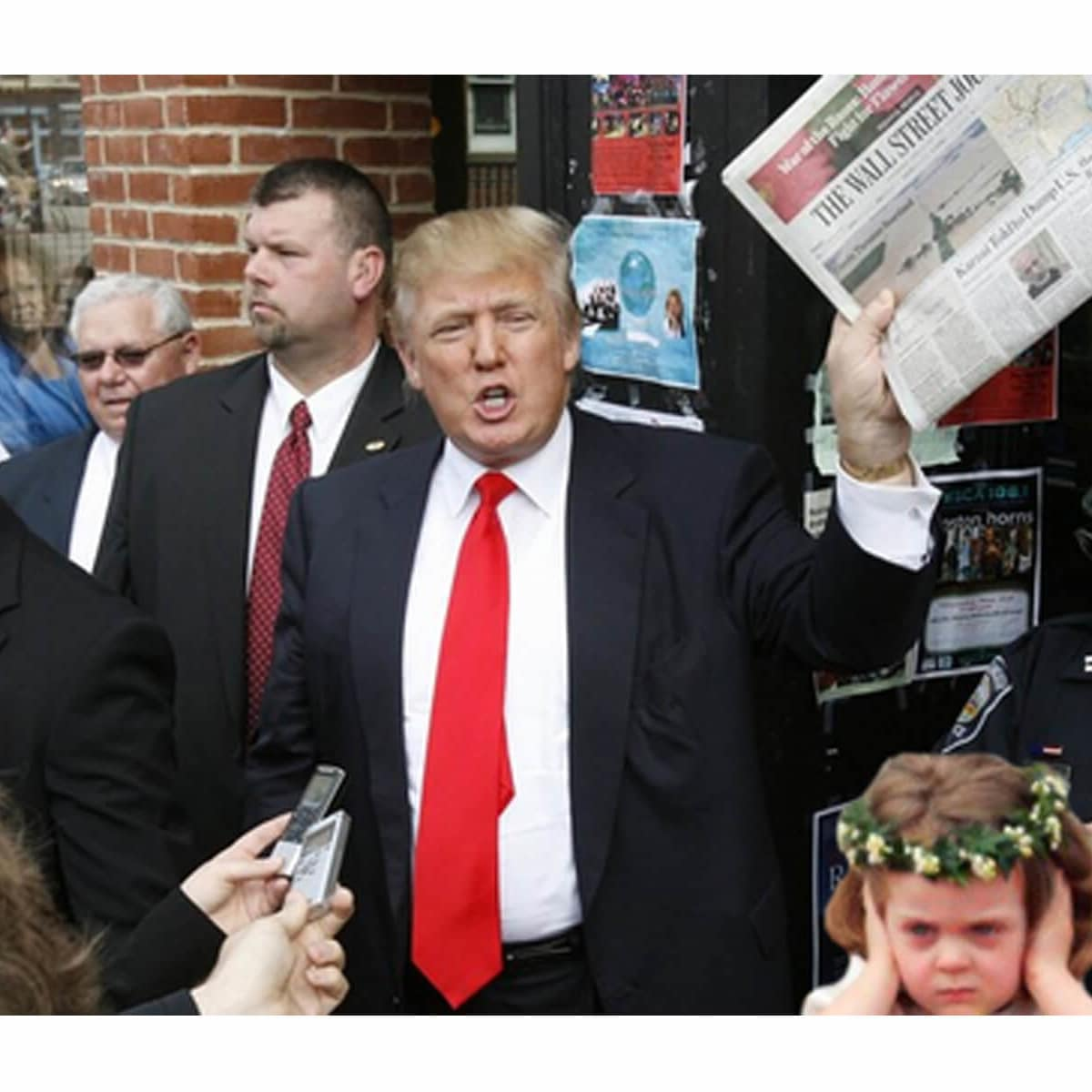 News_Little girl_Donald Trump