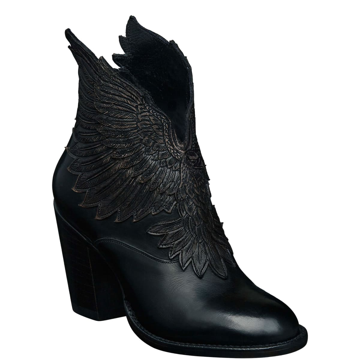Lucchese Celeste Black Bootie