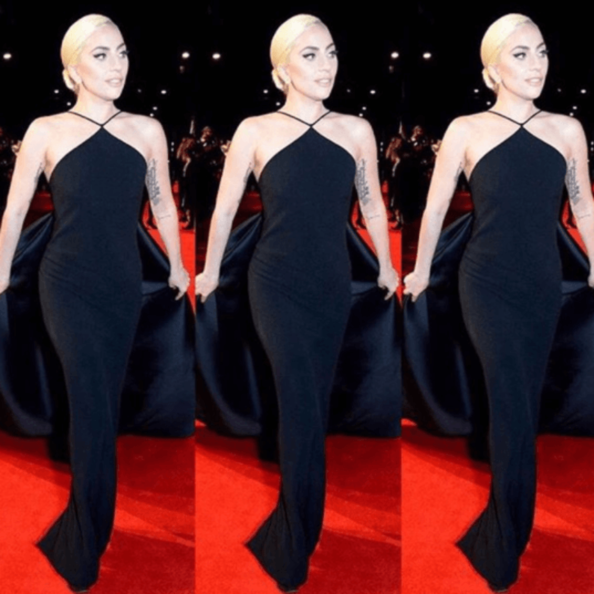 Lady Gaga in Brandon Maxwell at British Fashion Awards